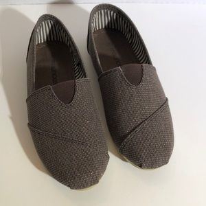 NWOT - Brown Canvas Shoes